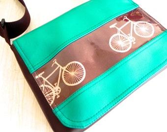 Emerald Bike Satchel