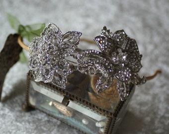 Bridal Hair Accessories, Wedding Hair Accessories/ bridal side tiara