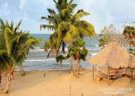 "8x10"" Photo/Print - ""Beachside Paradise"" - Hopkins, Belize"
