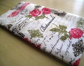 Romance - Butterflies and Roses - Apple Wireless Keyboard Sleeve - Padded and Zipper Closure