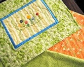 Button Garden Quiltie & Table Runner CUSTOM ORDER
