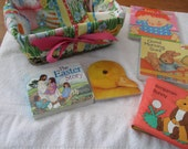 An alternative Easter Basket for a Toddler Girl with Board Books