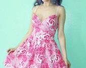 Swirly Lollipop Dress Limited Edition