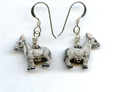 Donkey Sterling Silver Earrings