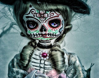UC Studios Steampunk Dia De Los Muertos Doll Canon PRINT 353 from Photo/Doll by Michael Brown
