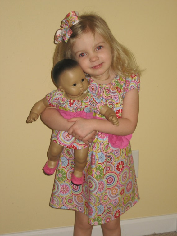 My daughters love dressing like their dolls and I just found the cutest Matching Smocked Dresses at Magic Cabin. The best part is they are on clearance! Got to love a good sale. The girls dresses were originally $ and are on sale for $ while the 16