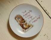 Holly Hobbie Lasting Treasures Collectible Mini Plate