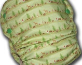 Woodland Stripe - Toddler AI2 Cloth Diaper