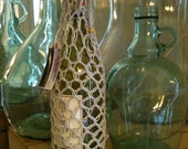 String Fish Net Wine Bottle Cover Cozy