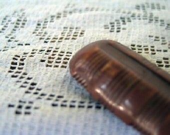 Antique Celluloid Button