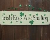 Irish St Patricks Shamrock Sign