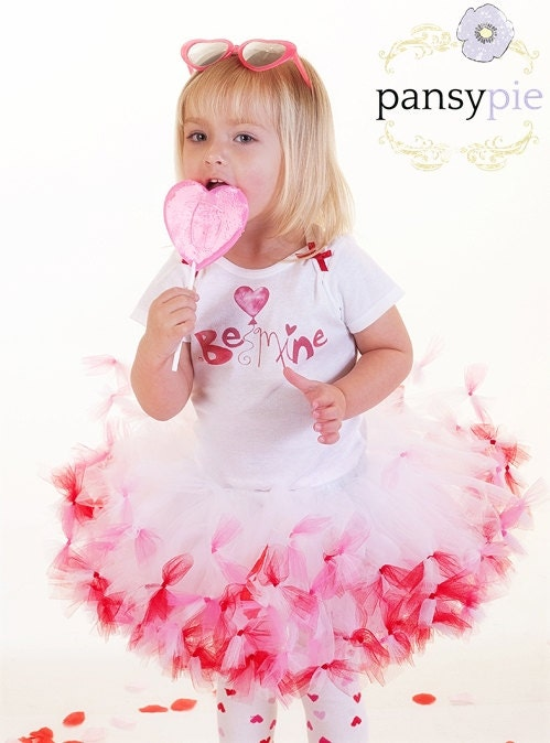 Toddler Valentine Outfit Girls Valentine By PansyPieBoutique