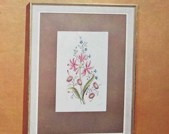 Flower Pictures in Embroidery Book