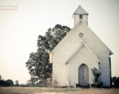 Chapel - 5x7 fine art print of old abandoned church, romantic place, wedding theme