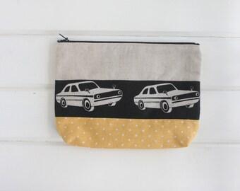 Echino Car Linen Pouch