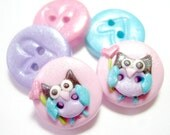 Sweetheart Owl - (set of 5)