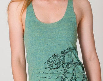 My Star Wars ATAT Pet - Womens Tank Top ( Star Wars ATAT tank top)