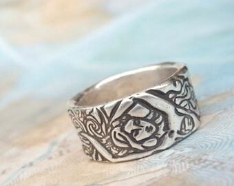 Mermaid Jewelry, Mermaid Ring, Mermaid Lover Gift Jewelry, Mythical Mermaid Ring Gift, Mermaid Gift for Mermaids