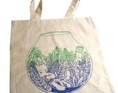Terrarium Tote Bag.