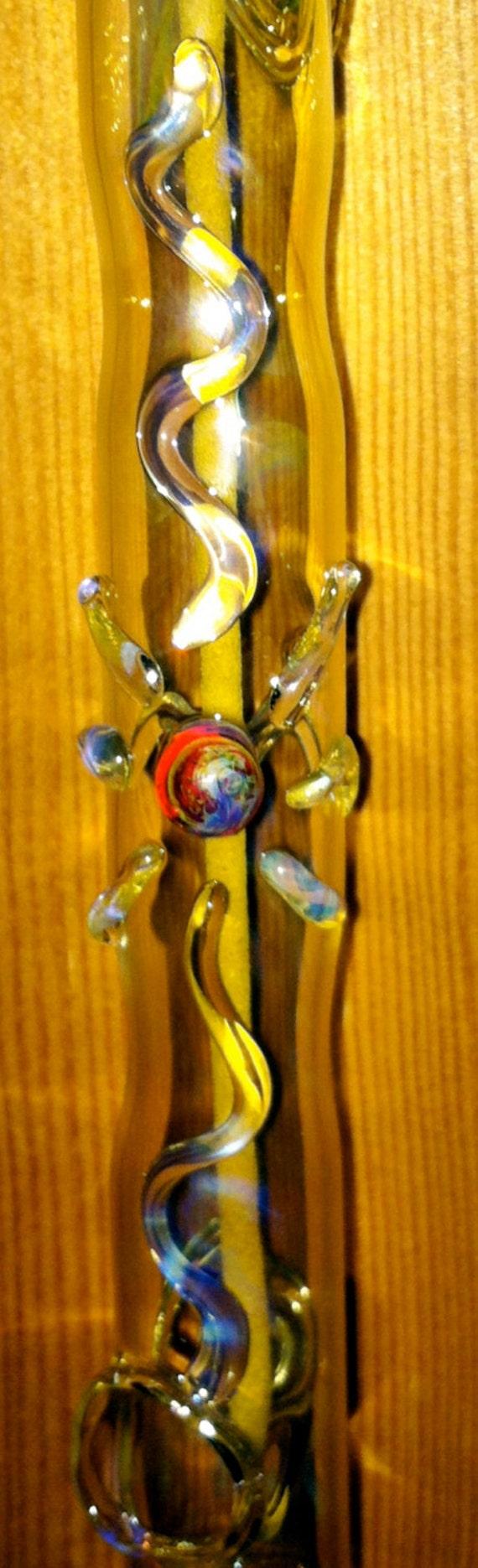Hanging Incense Burner Color Changing with Sunburst Symbol 2