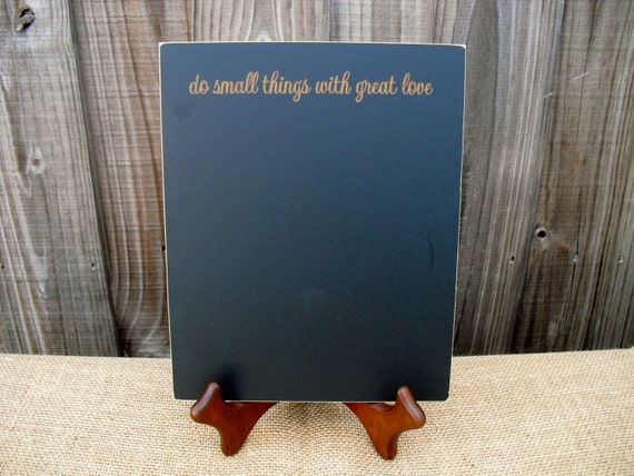 Home Decor Chalkboard With Easel Do Small Things With Great