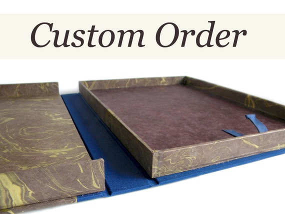 RESERVED - Custom Clamshell Box