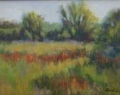 Oil Painting SPRING MARSH 9x12 Landscape