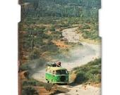 Samsung Galaxy S3, CURIOUS GABE Baja Ca, cell phone cover, Travel, Mexico, Cactus, Vw Bus, 3D Hard Case