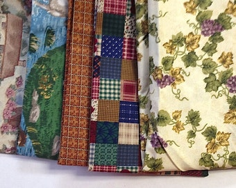 Traditional Americana Cotton Fabric REMNANT PACK