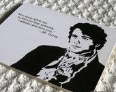 Oh Mr. Darcy - Single Card
