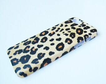 Leopard iPhone 3, 4/4S, 5/5S/SE, 5C, 6 or iPod Touch Case - Back Cover - Hard Shell Case