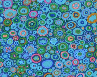 Kaffe Fassett PAPERWEIGHT Teal GP20 Quilt Fabric - by the Yard, Half Yard, or Fat Quarter FQ
