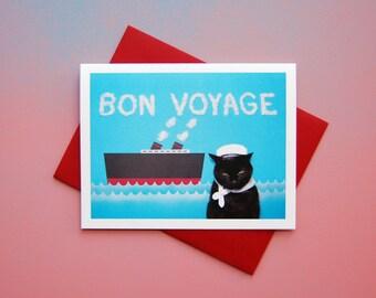 AC Bon Voyage Greeting Card