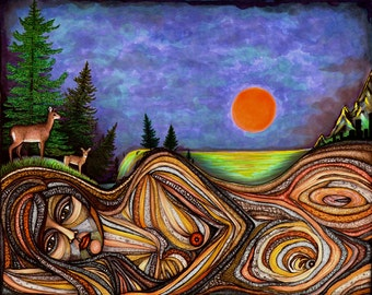 Mother Earth - 8x10 archival giclee print
