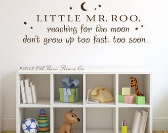 Little Mr. Roo - Vinyl Wall Decal