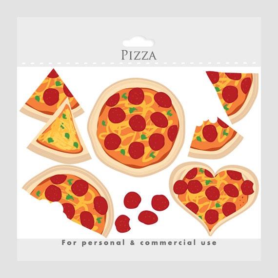 Pizza clipart pizza love clip art slices heart cheese