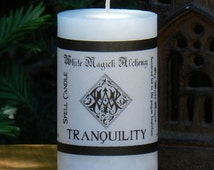 TRANQUILITY Spell Candle 2x3 Pillar