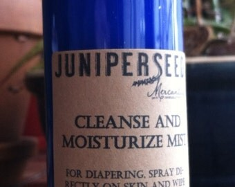 Cleanse and Moisturize Mist for Cloth Diapering Baby – 4 oz.