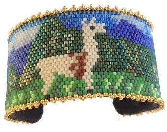 Machu Picchu Bracelet Pattern