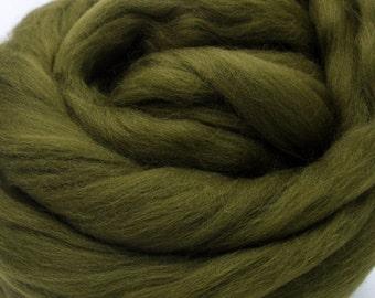 4 oz. Merino Wool Top - Laurel - Ships Free