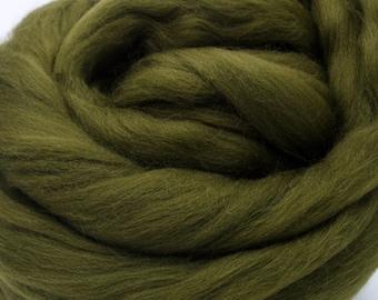 4 oz. Merino Wool Top - Laurel