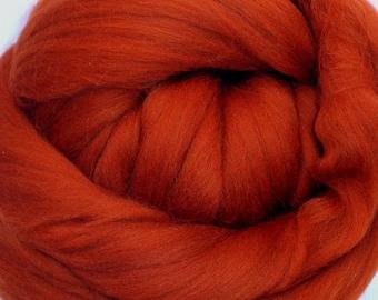 4 oz. Merino Wool Top - Foxy - Ships Free