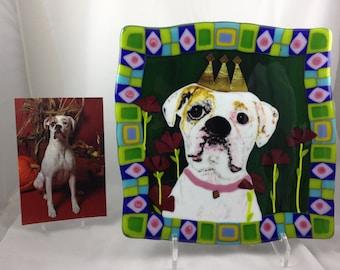"10"" x 10"" Custom pet portrait"
