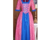 RESERVED for Lauren  -  Colonial, Frontier or Pirate Frock, Size L, Ready to ship