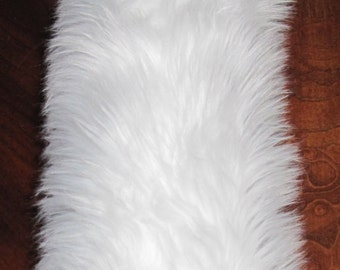 """Cosplay 15"""" long pile luxury shag faux fur costume tail in 5 colors"""