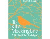 To Kill a Mockingbird Spring version 12x18 inches movie poster