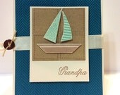 Grandpa Sailboat Card