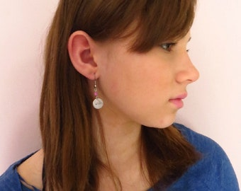 Affirmation WISH Earring -Young Girls Jewelry