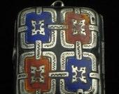 Handcrafted Middle Eastern Enamel Locket - 18th century