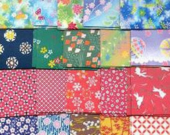 JAPANESE ORIGAMI PAPER Beautiful 360 Sheet Washi Rice Chiyogami 30 patterns 7.5cm